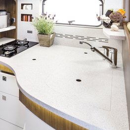 FRANKIA Motorhomes Optional Equipment – Kitchen Worktop