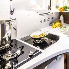 FRANKIA Motorhomes Optional Equipment – Gas Hob