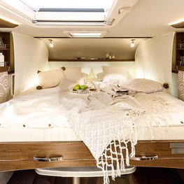 FRANKIA Motorhomes Optional Equipment – Duo Bed
