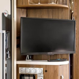FRANKIA Motorhomes Optional Equipment – LED TV