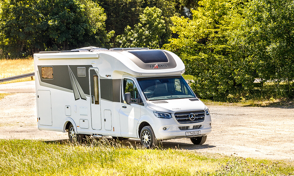 No matter what you choose – Coachbuilt, Low-Profile or A-Class – you will always enjoy an experience like no other with your FRANKIA motorhome
