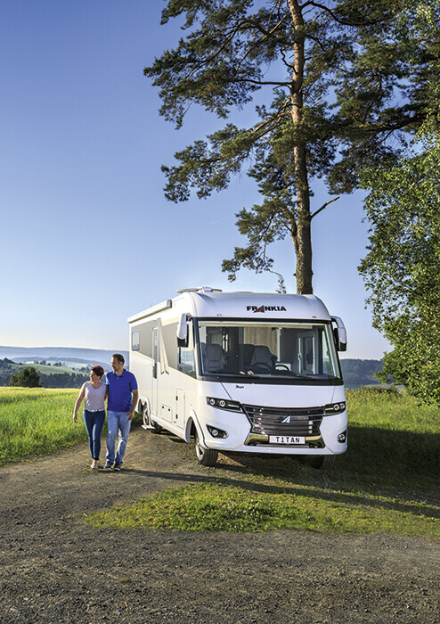 Frankia Wohnmobile Reisemobile Auf Mercedes Oder Fiat